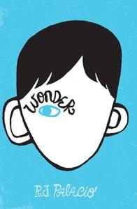 Título original é 'Wonder' e autora é R.J Palacio